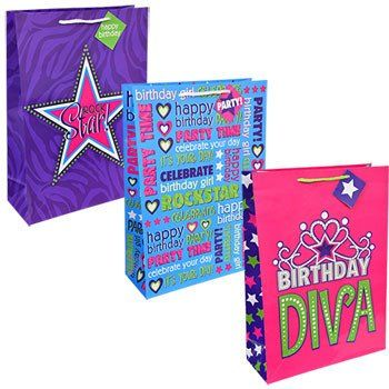 Voila Extra Large Rock Star Gift Bag
