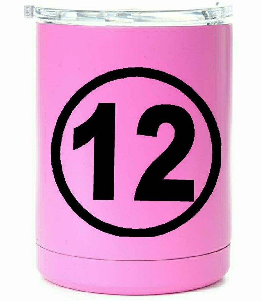 Racing number 12 decals vinyl decal sticker ebay motors parts accessories car truck parts ebay