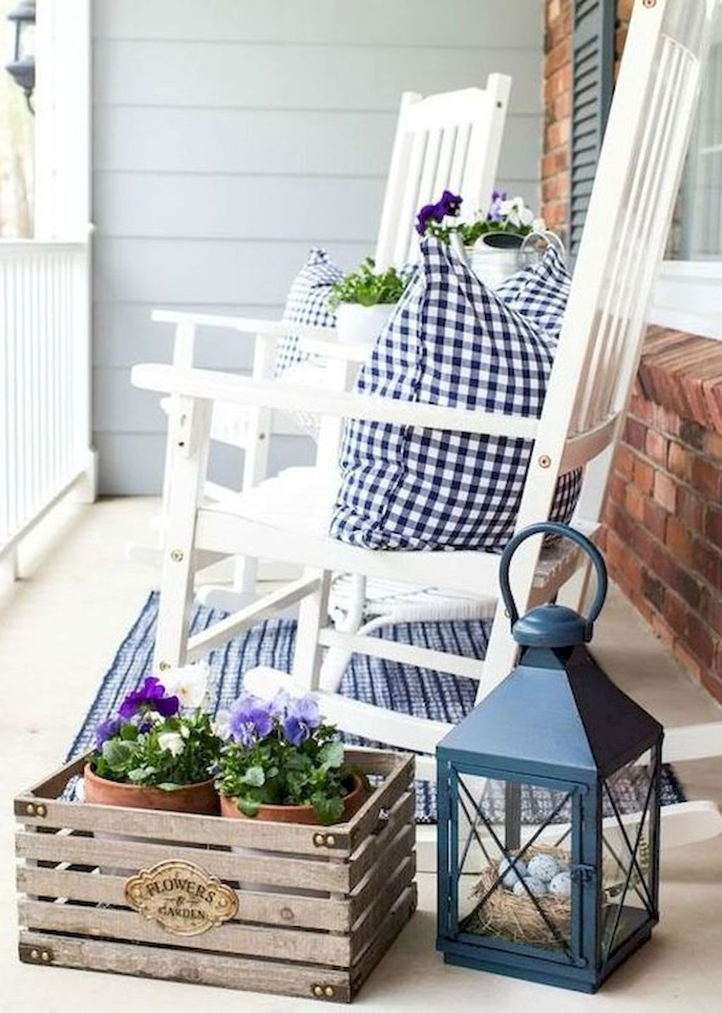 Most popular home exterior front porch decor and design