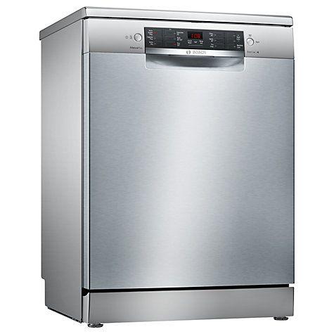Bosch Sms46mi00g Freestanding Dishwasher Stainless Steel