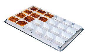 Mfg Tray 176223 1537 2 High 24 Section Full Size Fiberglass Sheet Pan Extender Cake Pans Sweet Roll Tray