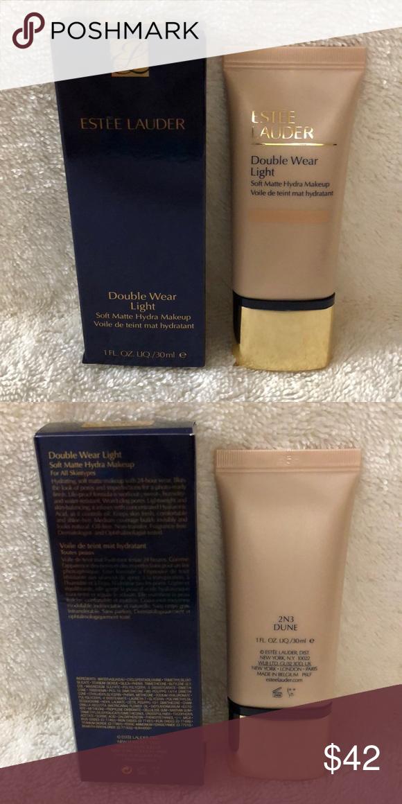 Estée Lauder Double Wear Light liquid foundation NWT