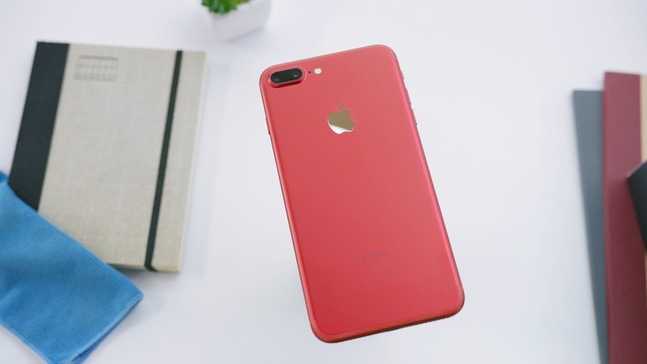 New RED IPhone 7 Unboxing
