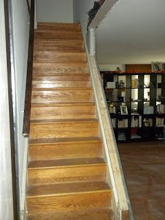 Opening Up A Staircase Basement Staircase, Staircase Remodel, Open Staircase,  Staircase Ideas,