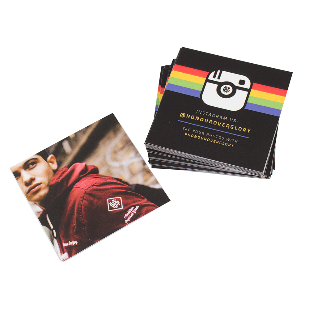 New Product Awesome Square Laminated Business Cards 400gsm Matte Laminate Great Example For Honour Over Glor Laminated Business Cards Cards Loyalty Card