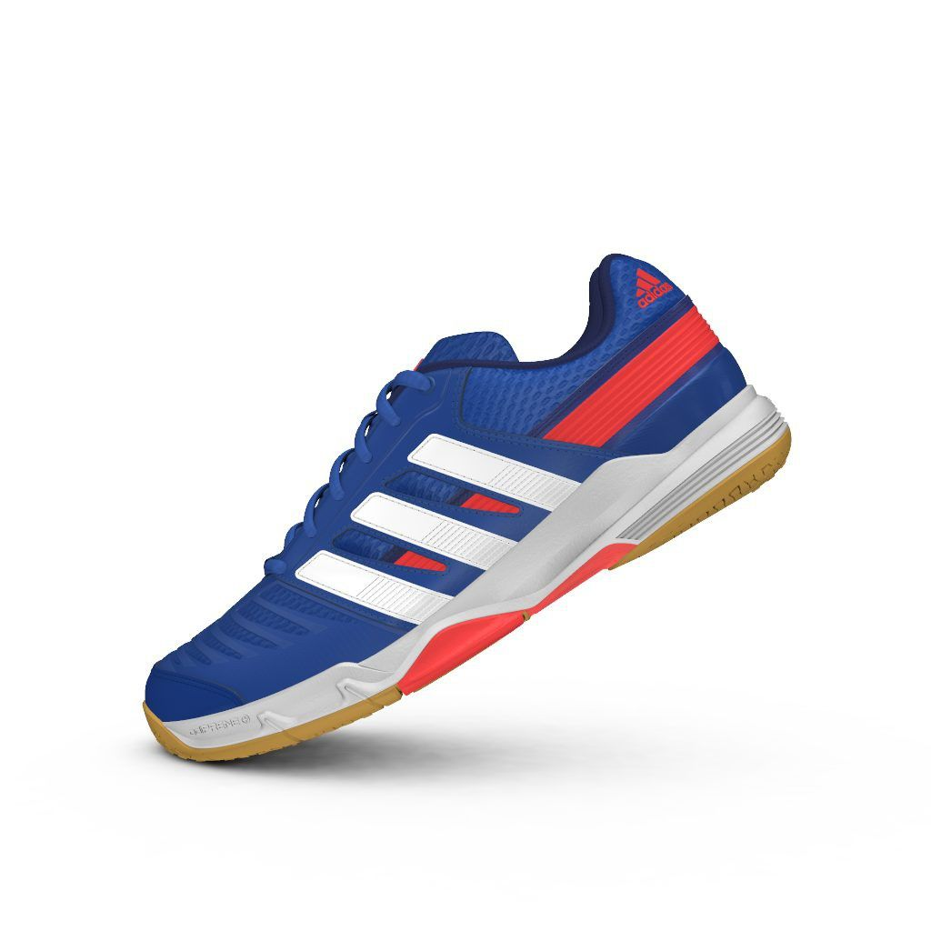 low priced 5afd2 78789 Adidas Stabil Essence Blue  Adidas Squash Shoes  Adidas, Squash shoes,  Adidas sneakers