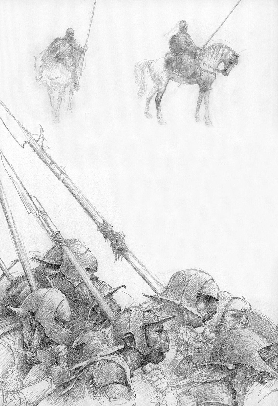Alan Lee: Lord of the Rings Sketchbook.   Lord of the Rings ...