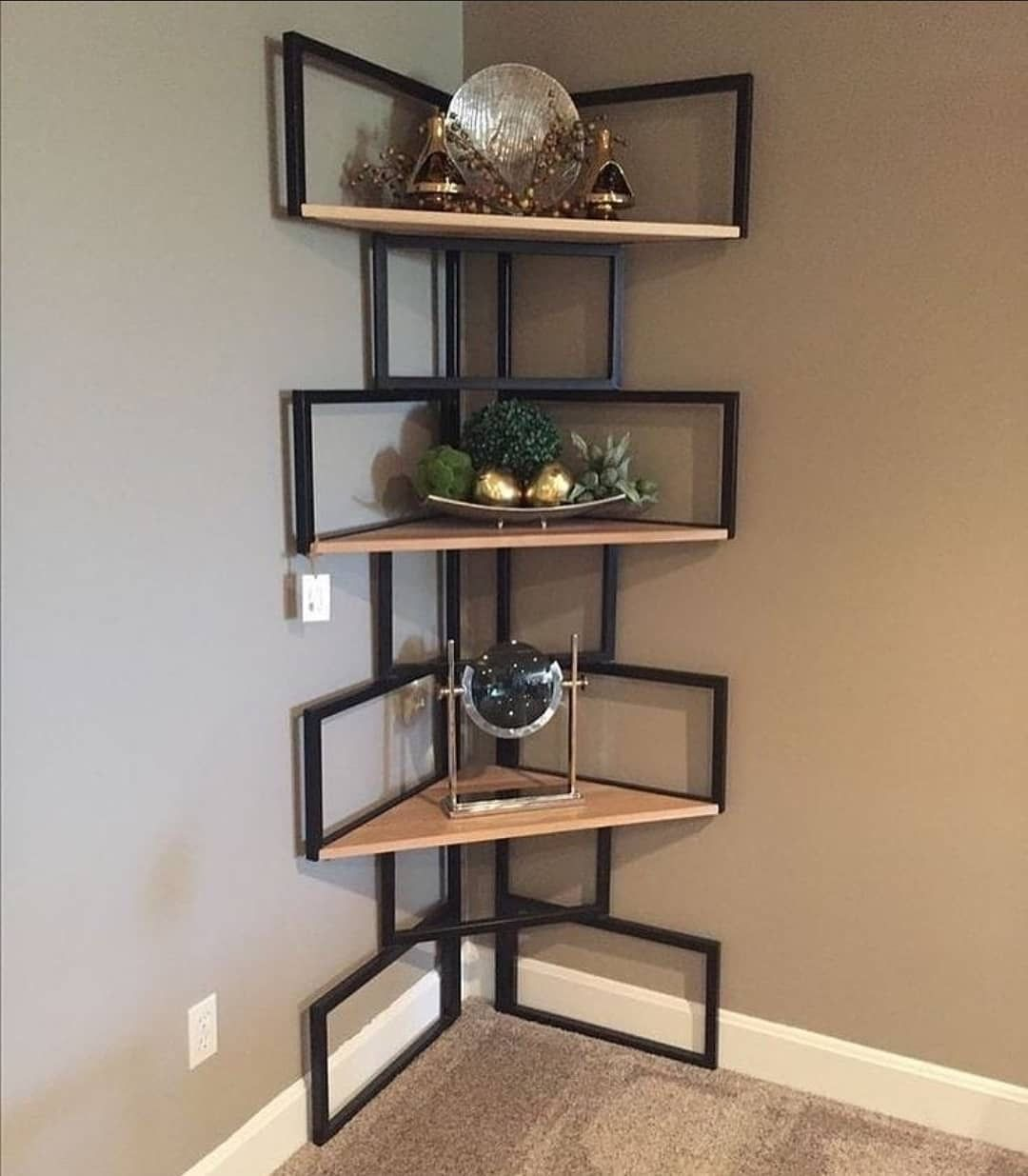 16 Creative Home Decors To Bring A Different Feel To Your Home In 2020 Home Decor Shelves Welded Furniture House Interior Decor