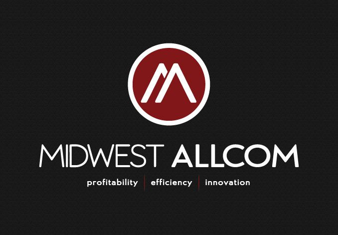 Tattoo Initials Mn: Logo Design For Midwest Allcom, A Telecommunications