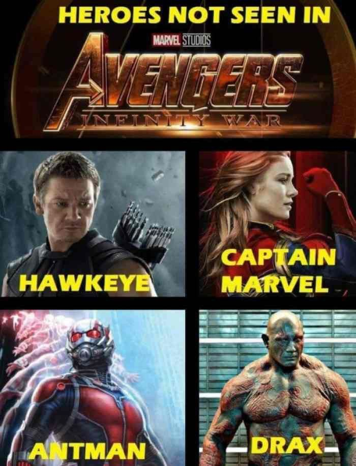 Im Still Confused Why This Said We Didn T See Drax In Infinity War Because We Did He Asked Why Is Gam Marvel Avengers Funny Avengers Marvel Avengers Assemble
