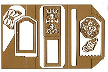 Amazon.com: Anna Griffin Festive Flips Card Making Kit U0026 Cutting Dies For  Halloween, Christmas Cards U0026 More!: Arts, Crafts U0026 Sewing | Dies |  Pinterest ...