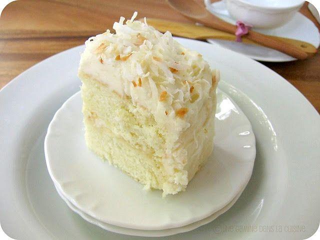 Coconut ginger cake!