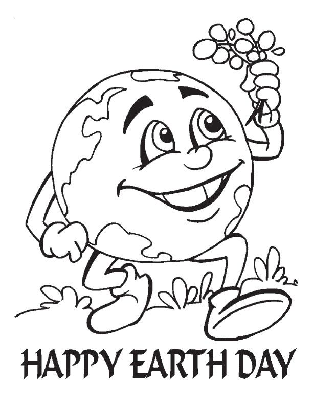Earth Day 2015 Coloring Pages earth day Pinterest Earth and