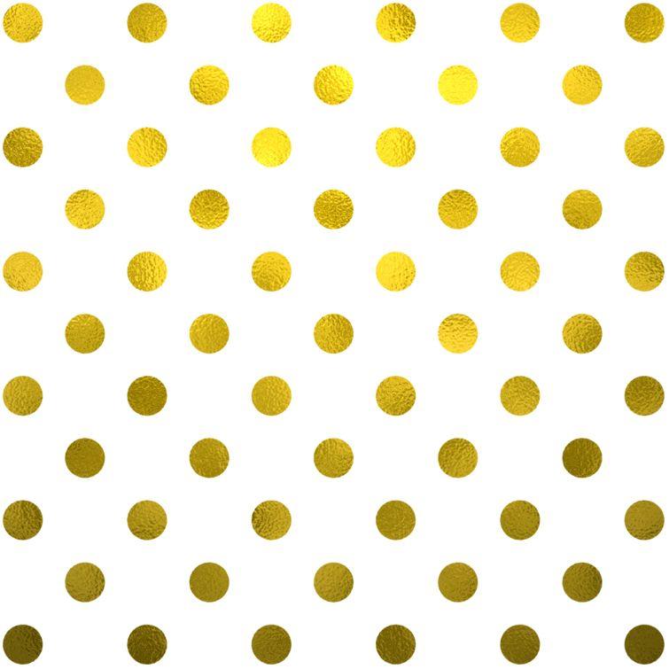 Free Gold Foil Polka Dots Digital Paper  Lettering