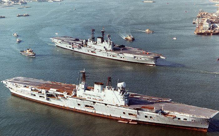 Военное кораблестроение в мире в послевоенный период (без СССР и США!)