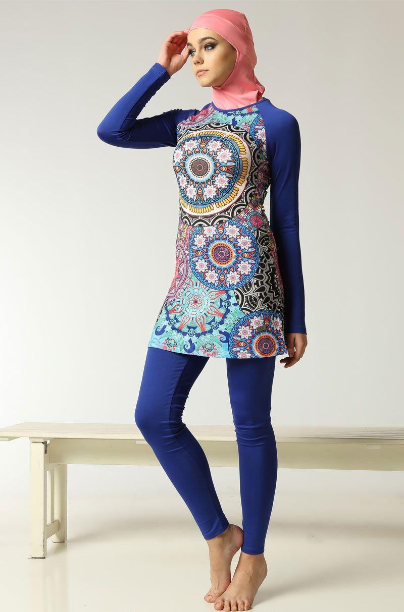 Hasema Tamkapalimayo Burkini Muslimswimwear Fullycoveredswimsuit Womenswimwear Mayolar Musluman Modasi Basortusu Modasi