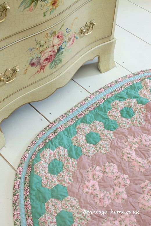 Vintage Home Pretty Patchwork Rug Www Co