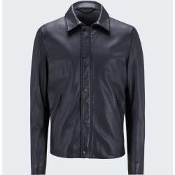 Photo of Leather jacket Monza – S.C. Collection, black StrellsonStrellson