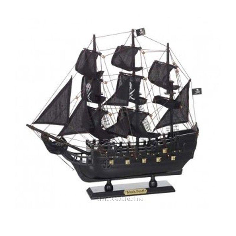 Maqueta Del Barco Pirata Black Pearl Barcos Piratas Barco Pirata