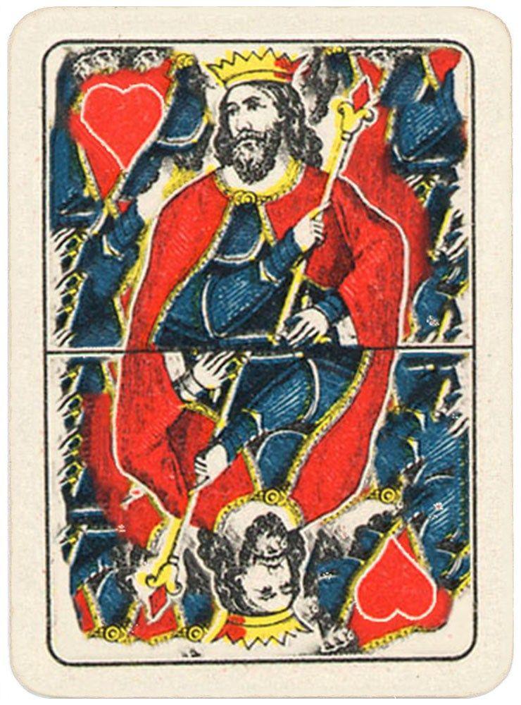 Morreale portrait de lombardie carte per tresette scopa