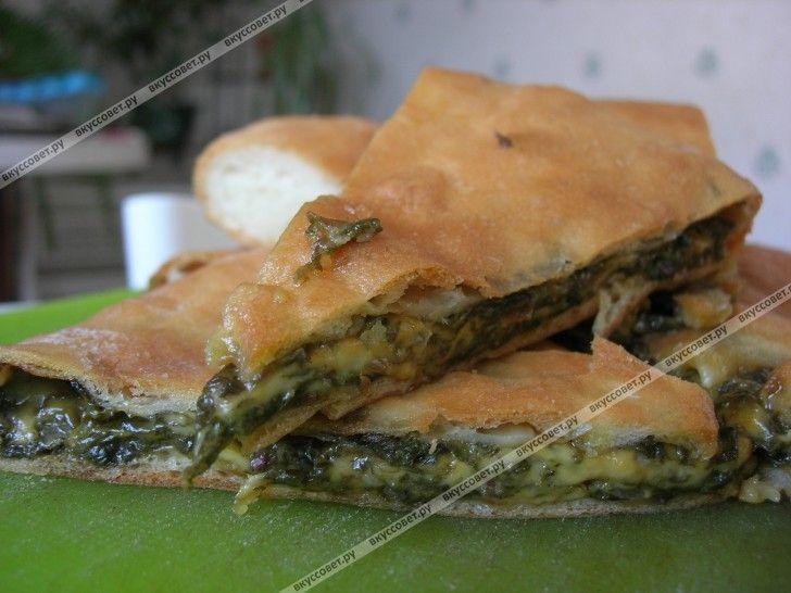 пироги со свекольной ботвой рецепт с фото
