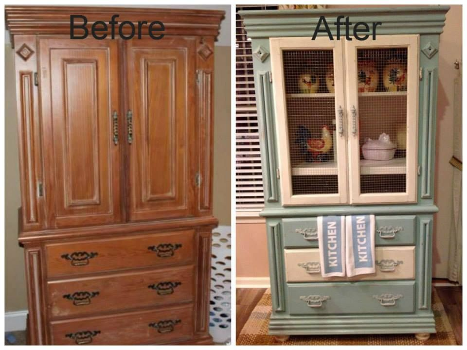Repurposed Furniture Before And After Creative