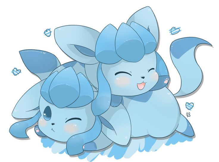Pin By Angelica Garand On Glaceon Cute Pokemon Pictures Pokemon Eeveelutions Pokemon