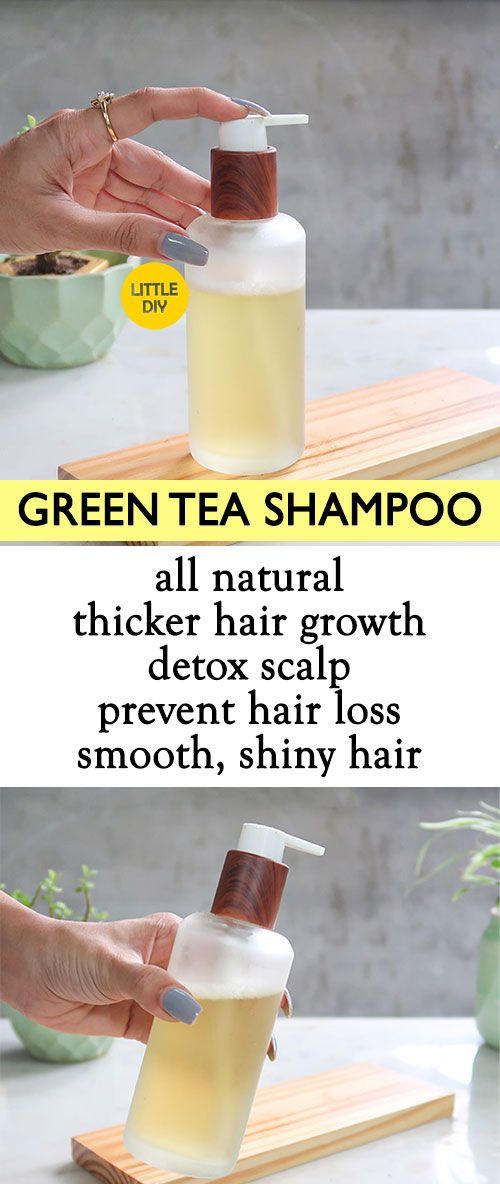 Diy Green Tea Hair Growth Shampoo In 2020 Hair Growth Shampoo
