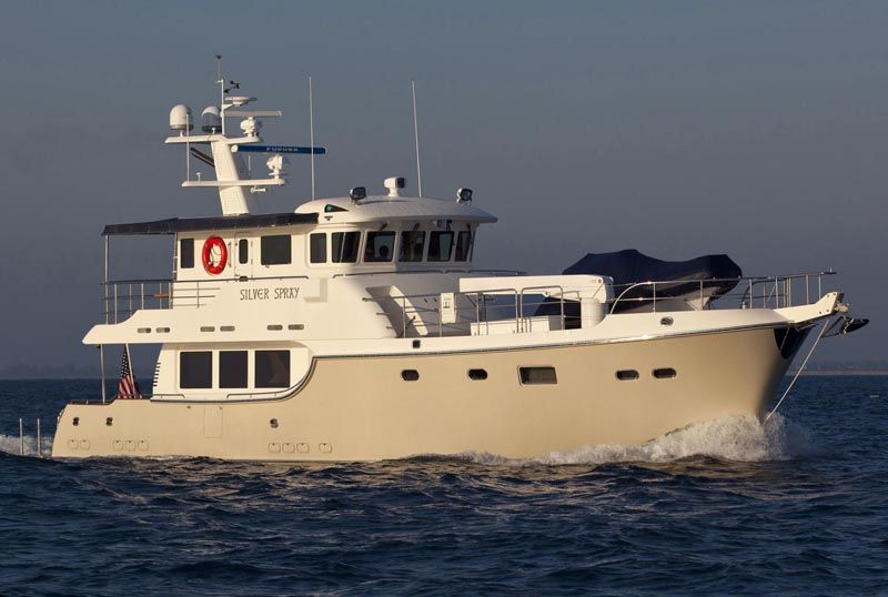 Review Nordhavn Yachts 63 Expedition Trawler