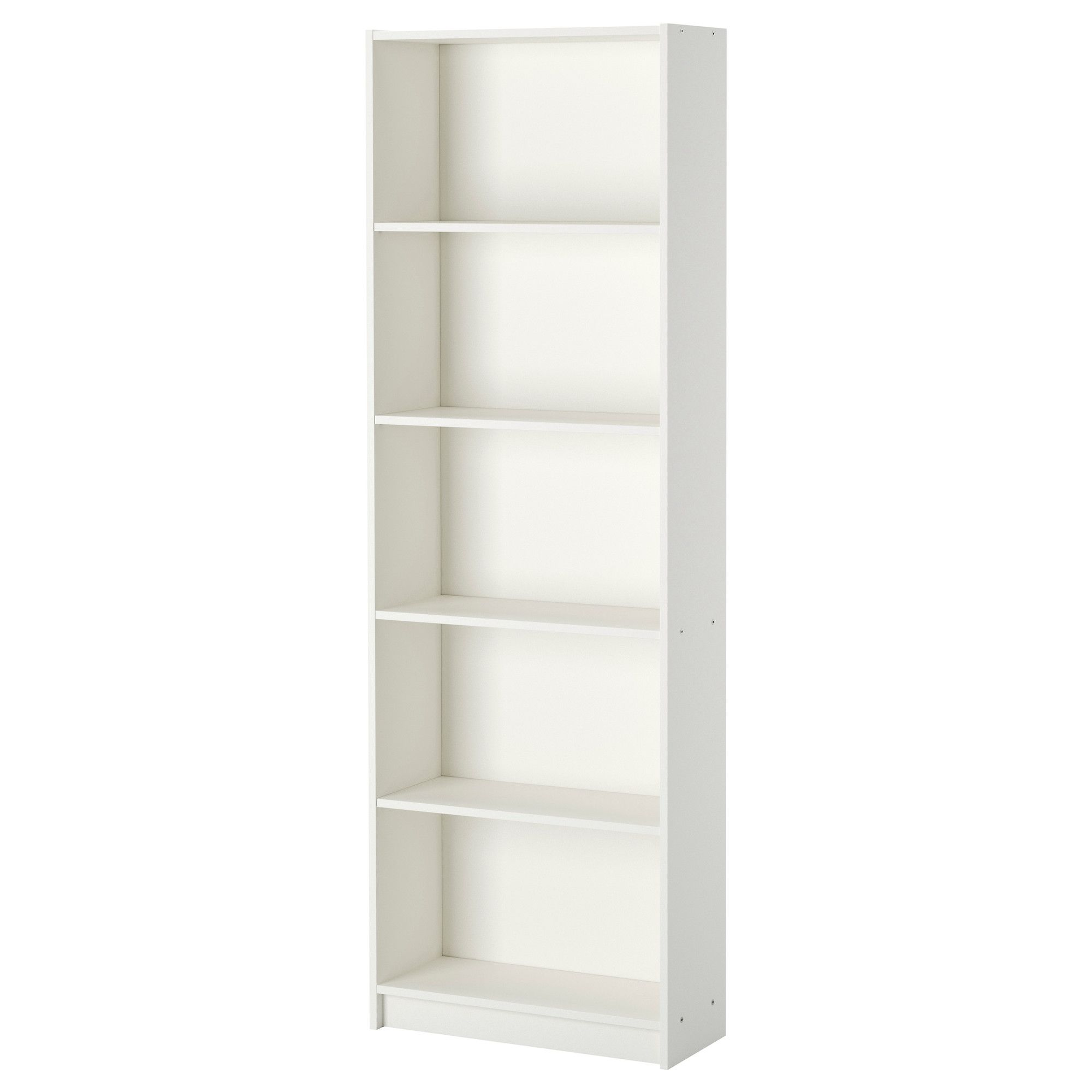 Gersby Libreria Bianco 60x180 Cm Ikea It White Bookcase Wide Bookcase Bookcase