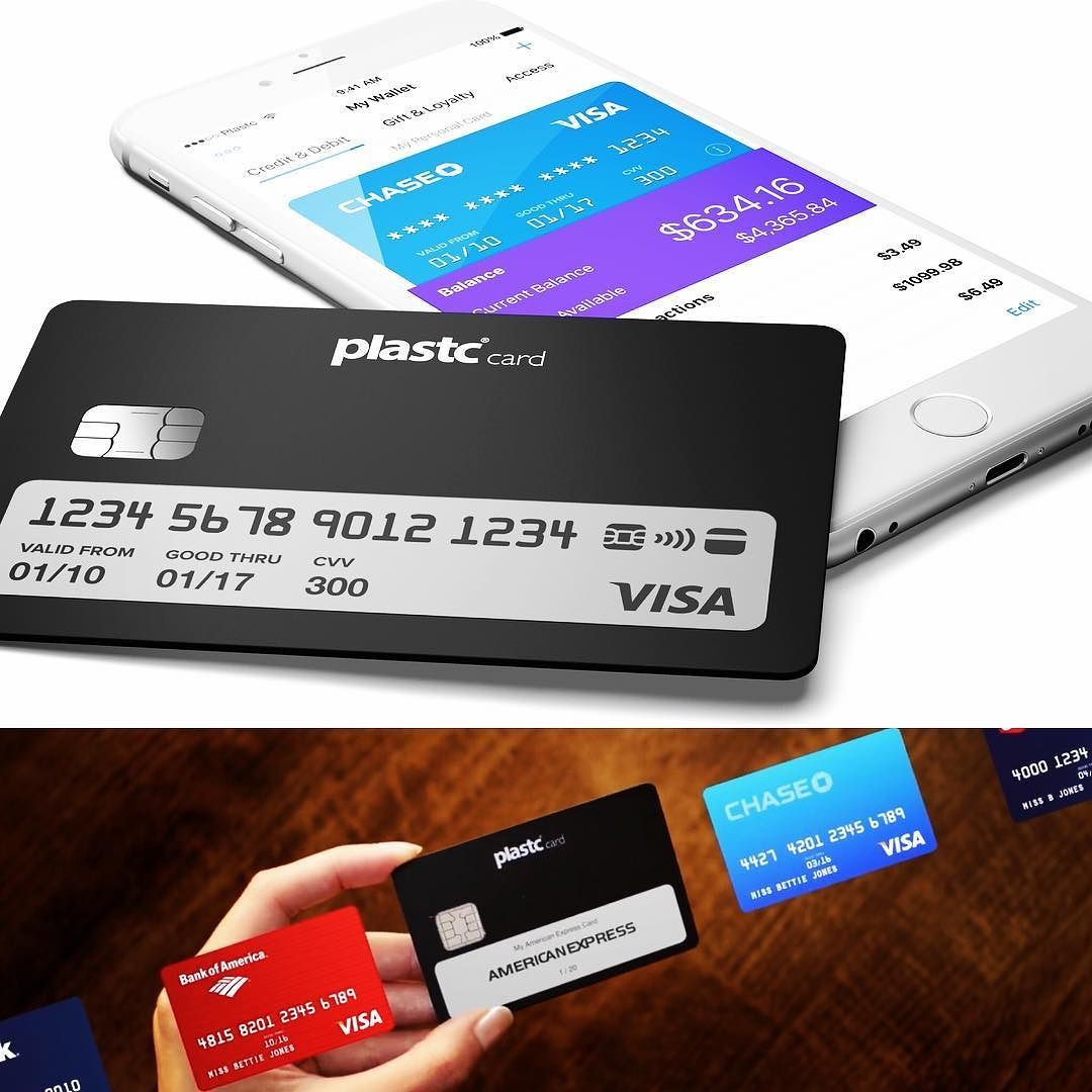 Plastc The Sleek Smart Card Combines All Of Your Cards