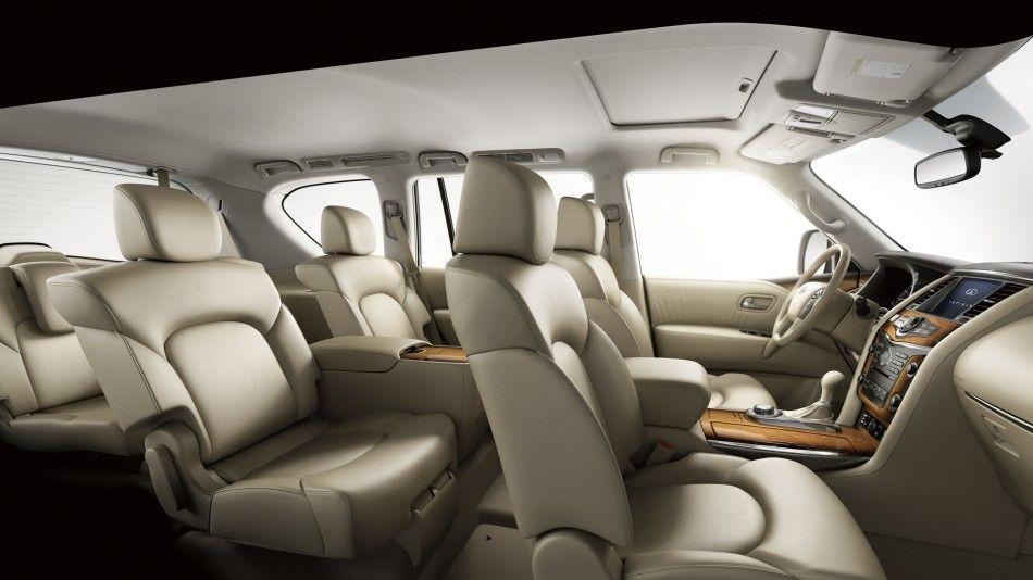 2015 Infinity Qx80 Seating Luxury Cars Infiniti Dealership