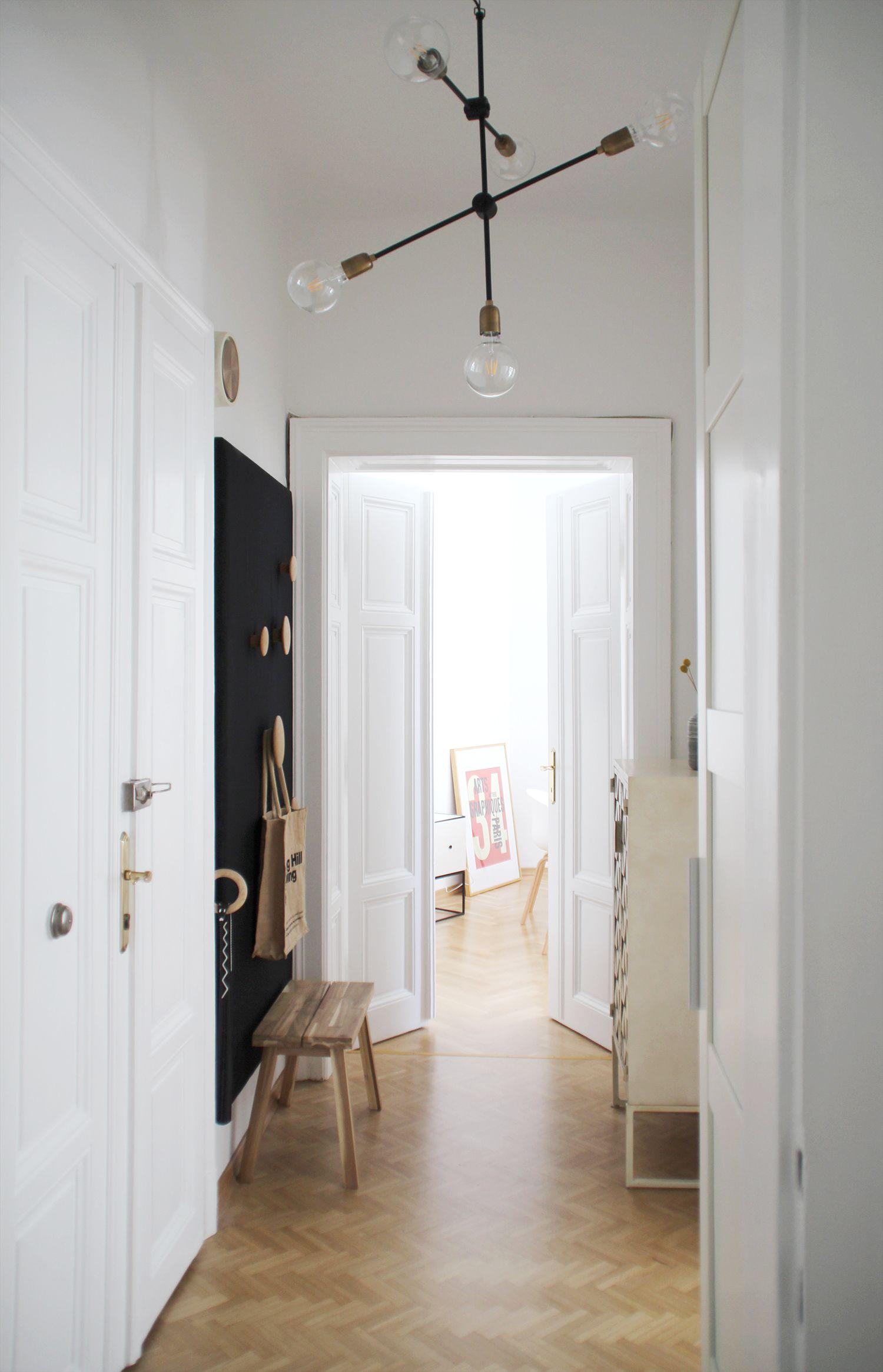 Flurblick Haus Deko Altbau Wohnzimmer Neue Wohnung