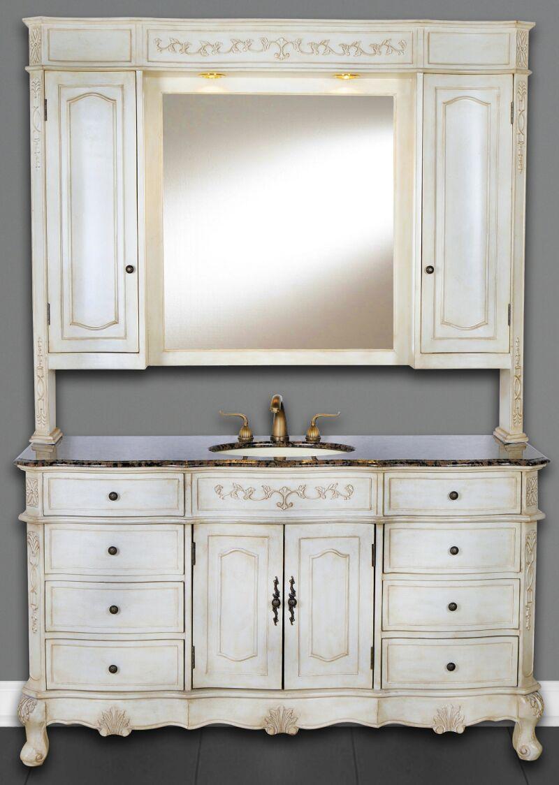 60Inch Cortina Vanity  Single Sink Vanity  Vanity with