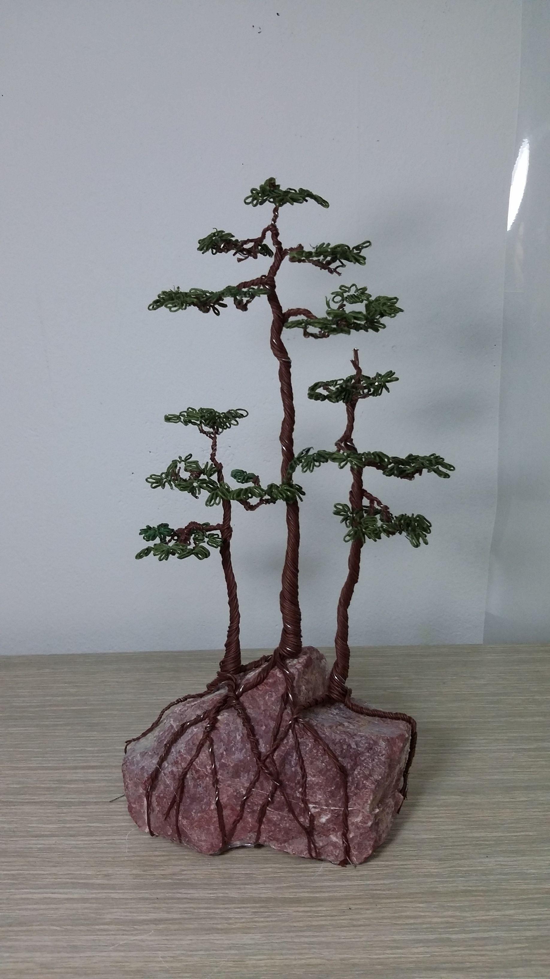 Pin von javier auf figuras de bonsai | Pinterest | 3d, Baum und Perlen