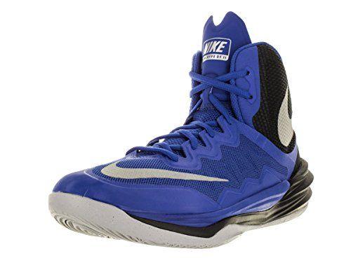 hot sale online 89f48 482b5 NIKE Mens Prime Hype DF II Basketball Shoe Royal Black Re.