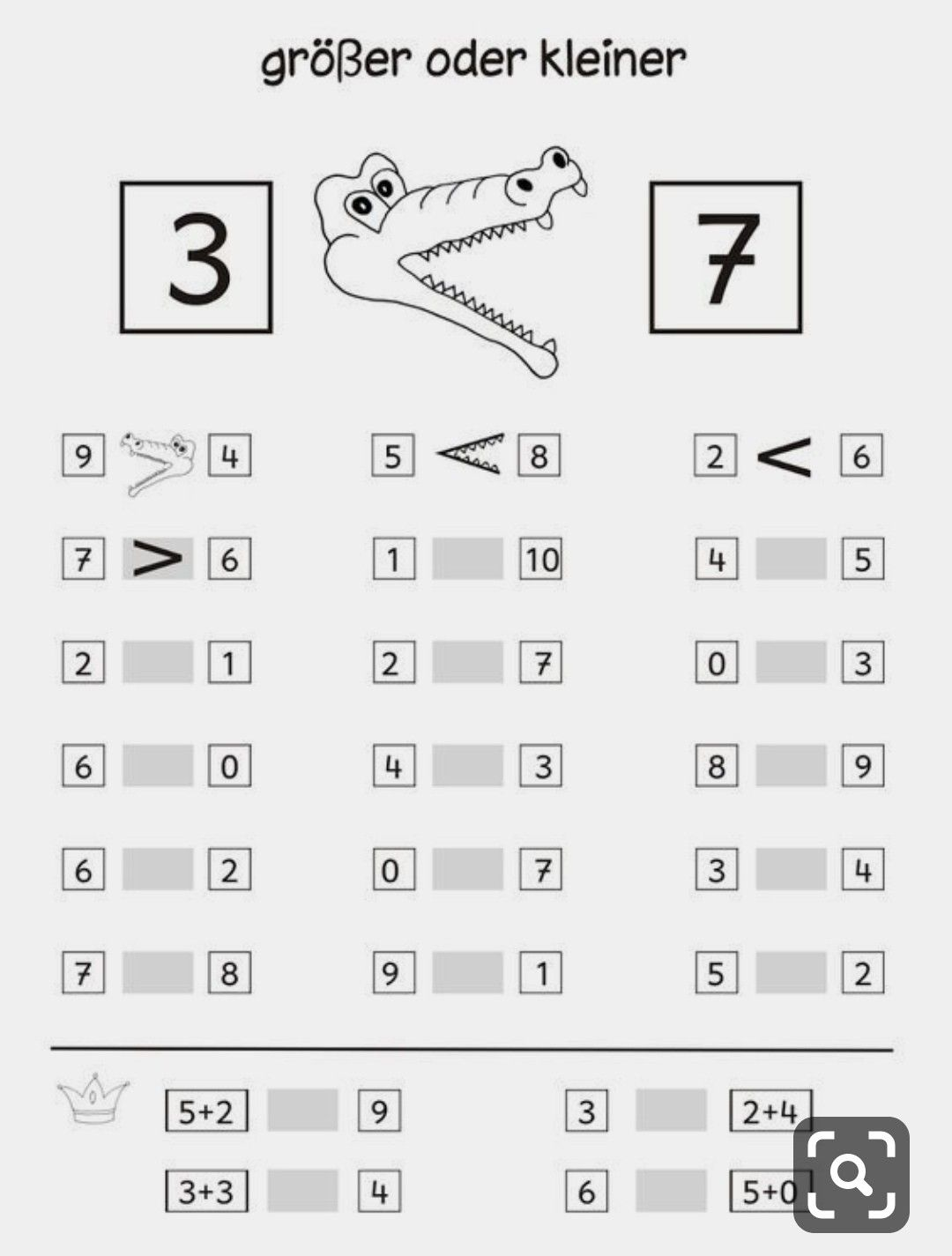 Singapore Math Worksheets 1st Grade