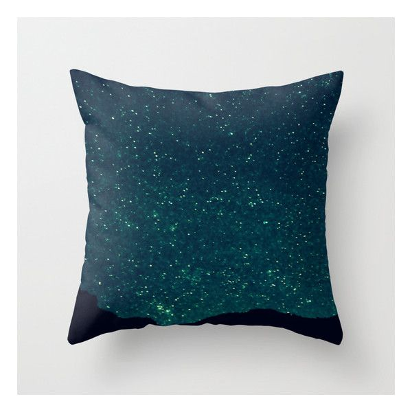 Desert Stars Throw Pillow ($20) ❤ liked on Polyvore