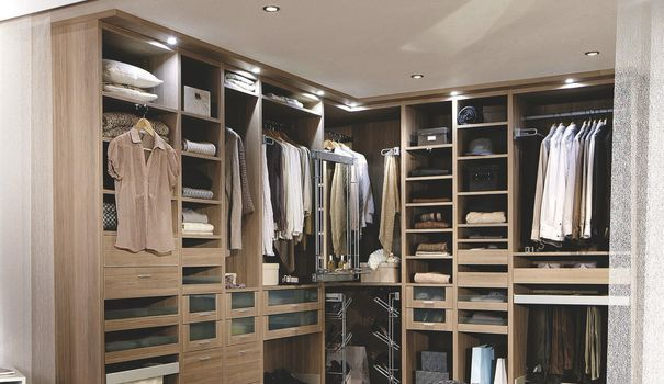 Dressing sur mesure dressing lapeyre 8 exemples de rangements - Creer son dressing sur mesure ...