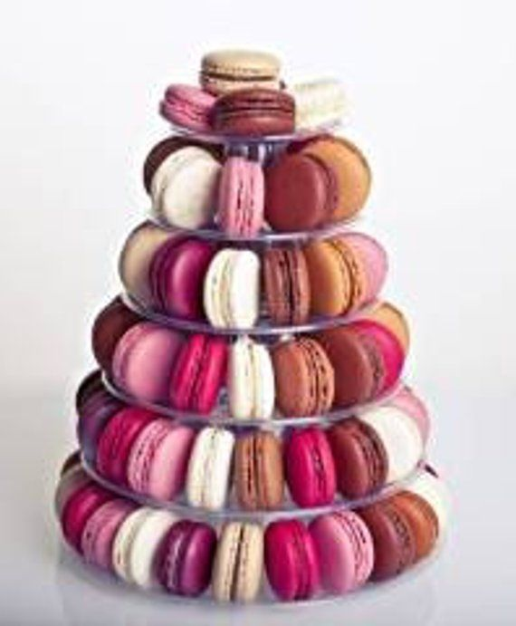 10 Tier Macaron Display Stand For French Macarons By Cheerico Macaron Stand Wedding Cake Alternatives Macarons