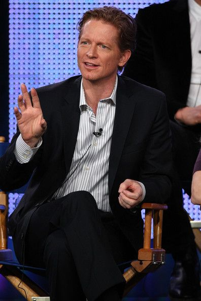 Eric Stoltz Photos - Actor Eric Stoltz speaks onstage for the Syfy Channel's  television show 'Caprica' during the NBC Universal 2010 Winter TCA Tour day 2 at the Langham Hotel on January 10, 2010 in Pasadena, California. - 2010 Winter TCA Tour - Day 2