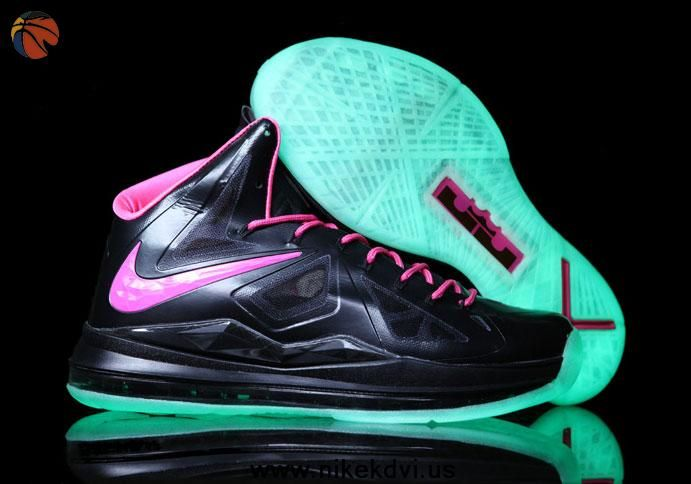 new product 6294a 8e661 Floridians Glow in the Dark Nike Lebron X (10) Discount