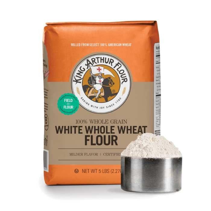 King Arthur White Whole Wheat Flour - 5 Lb