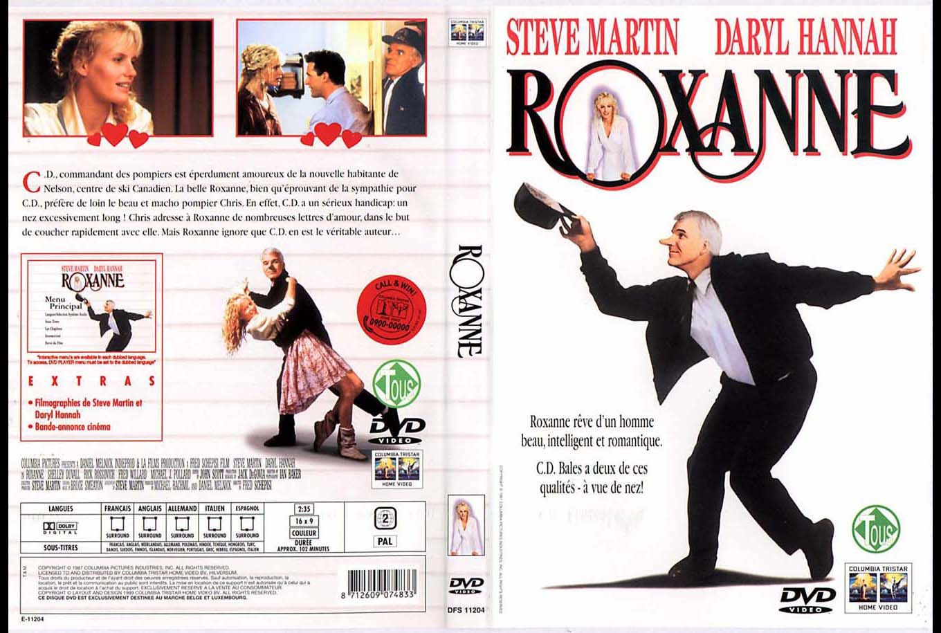 Roxanne, 1987. A retelling of Cyrano De Bergerac. An incredibly ...