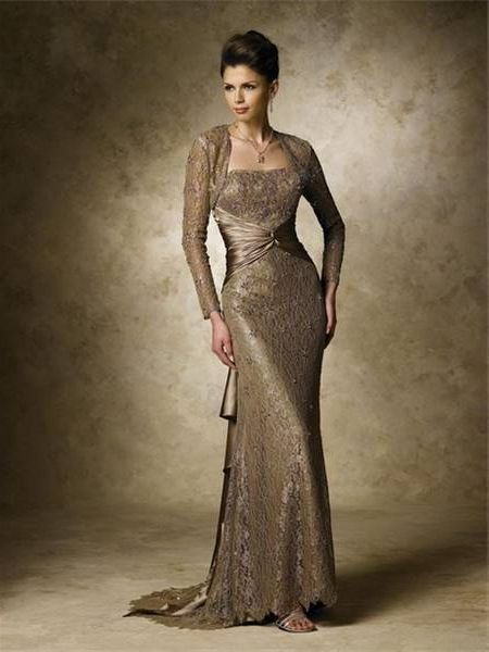 Cool Ladies Formal Dresses With Sleeves Review Check More At Http