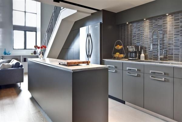 Contemporary Kitchen Cabinets Grey grey-kitchen-cabinetsfantastic-grey-kitchen-modern-interior-design
