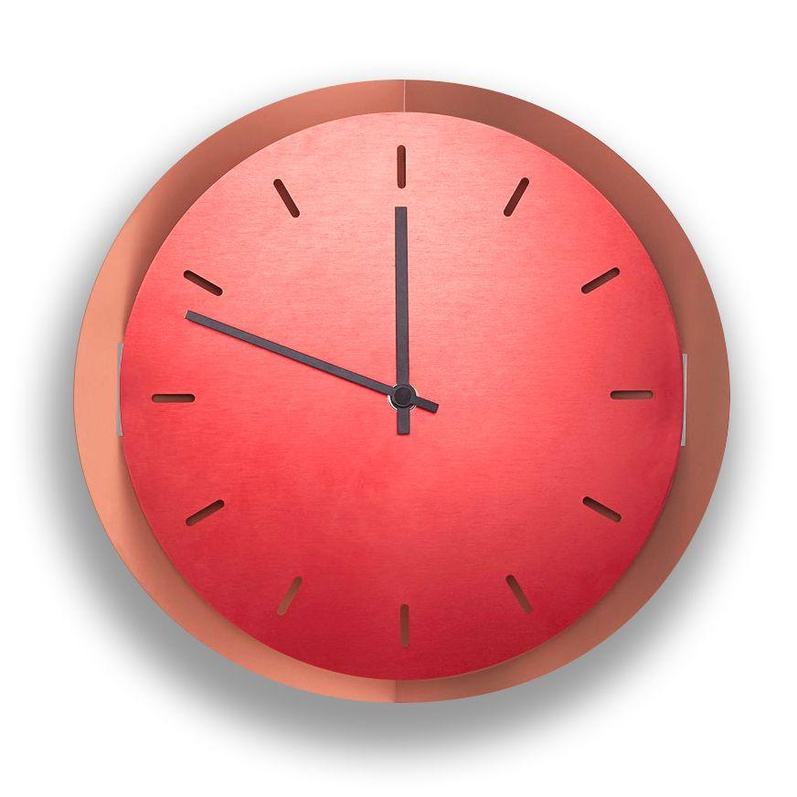 Pop Up Clock For Incipit By Li Do Laboratore Innocenti Design Office Metal Wall Clock Wall Clock Clock
