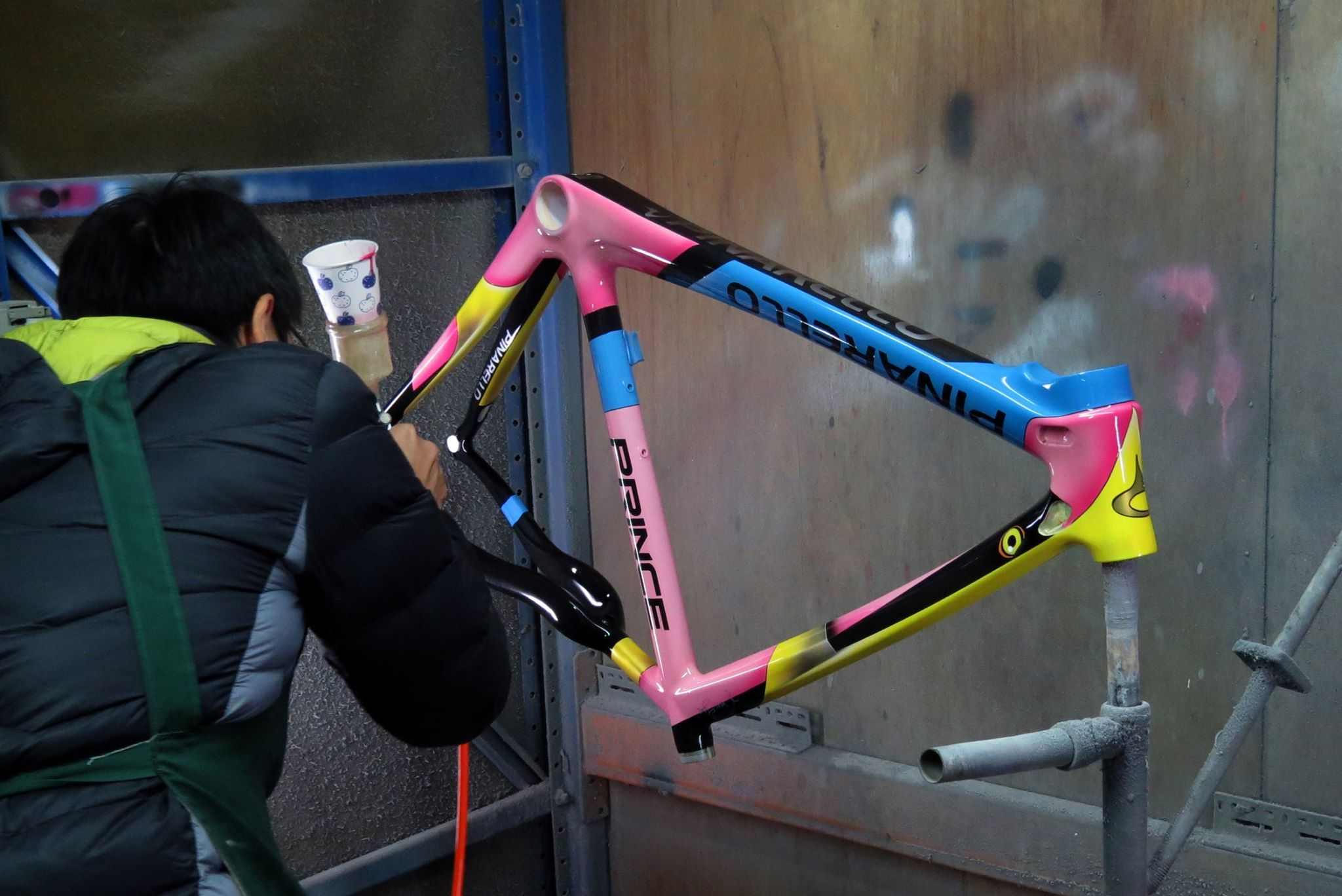 Pinarello Prince Custom Paint Bicycle Design Paint Bike Bike Frame