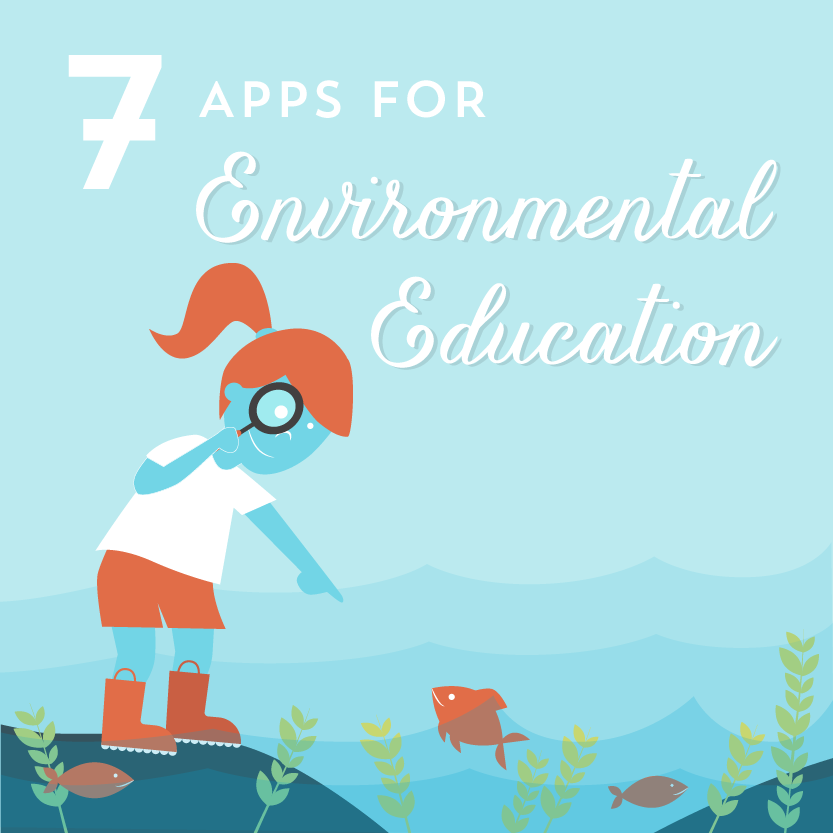 7 Apps For Environmental Education Environmental Education Preschool Programs Environmental Kids Activities