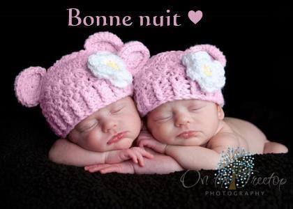 Bonne nuit image  4279 - Bonne nuit - Bébés, Bonnet, Mignon, Sommeil.  Partager cette photo sur Facebook, Twitter et WhatsApp. 8b7210a45a3